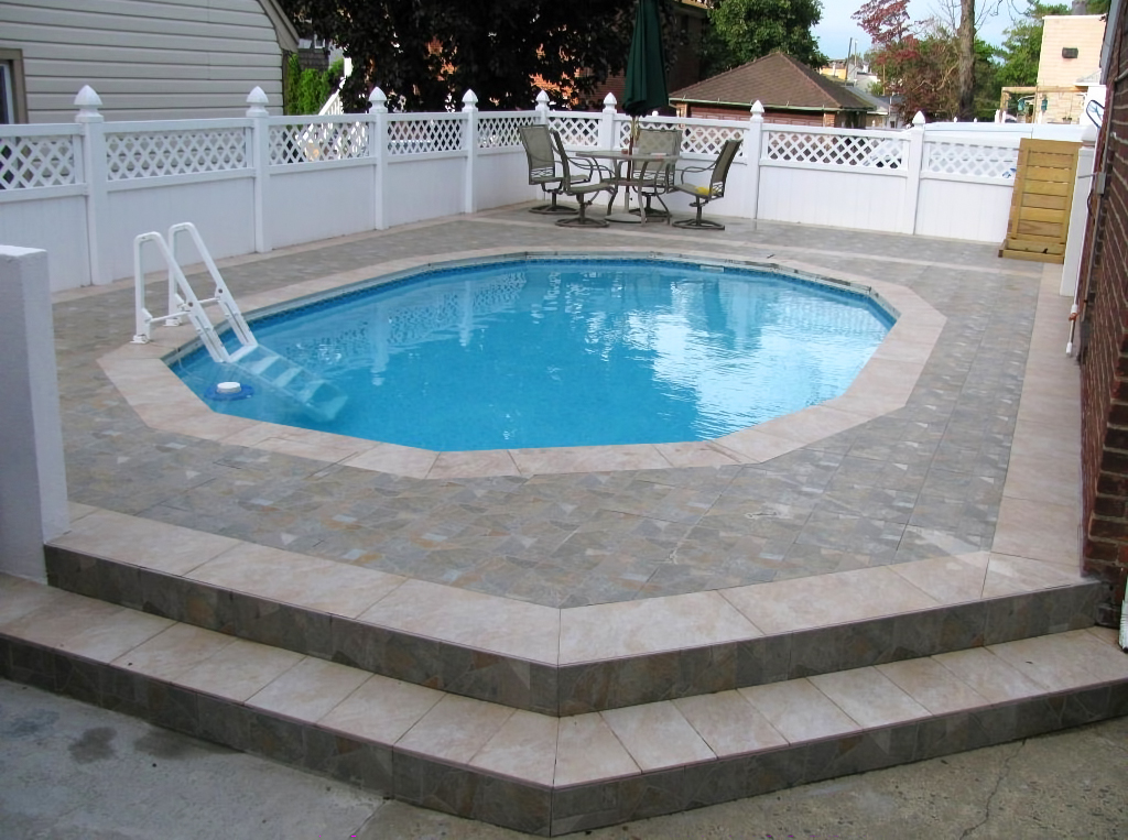 Semi Inground Pool Installations