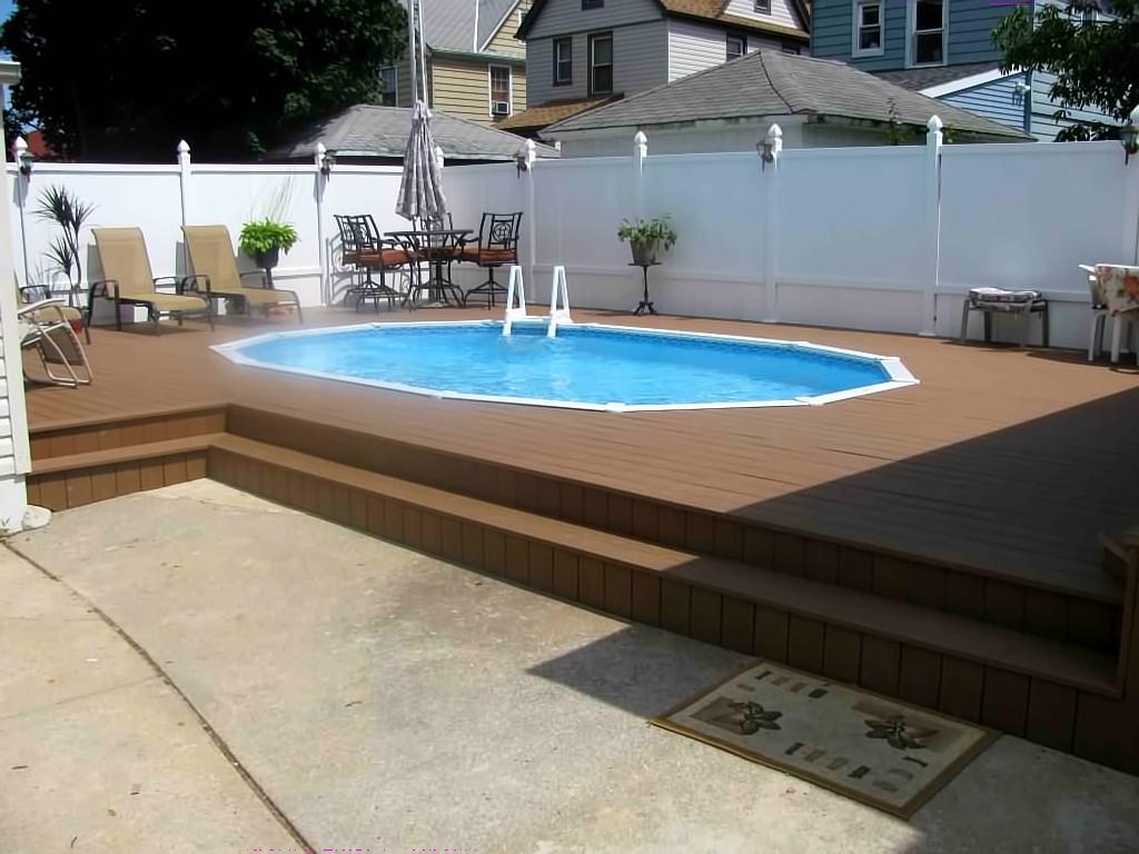 Semi Inground Pool Installations Ny
